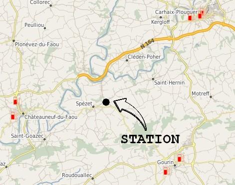 station service de Spézet